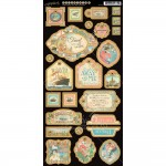 Come Away With Me - Decorative Chipboard